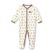 editions newborn s thanksgiving sleeper pajamas turkey