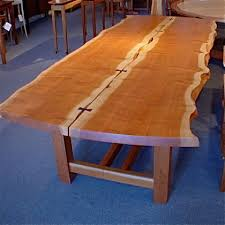 Living Edge Dining Table David Gray Live Edge Dining Table Northwest Fine Woodworking
