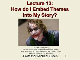 themes for my story ppt lecture 13 how do i embed themes into my story powerpoint
