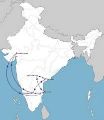 Delta Route Map by Air Costa World Airline News