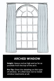 how to hang curtains 101 hang curtains window and arch