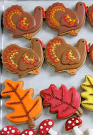 turkey cookies for thanksgiving decorating cookies 5 easy ways to add visual interest sweetopia