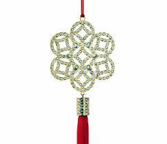swarovski swarovski ornament coin flower 1175346