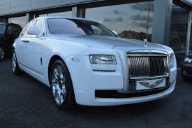 rolls royce white used rolls royce ghost 6 6 4dr auto sold for sale in wednesbury