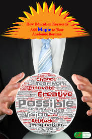 guide to business gaming and experiential learning how to use education keywords to add magic to your academic resume