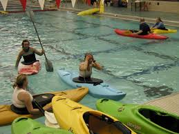 learning to kayak surviving the confluence pool class at du