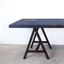 bureau type industriel table à manger ou bureau style industriel bois acier
