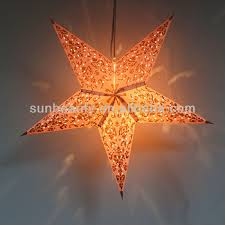 Large Christmas Hanging Decorations by Large Paper Star Lantern For Christmas Hanging Decoration Buy