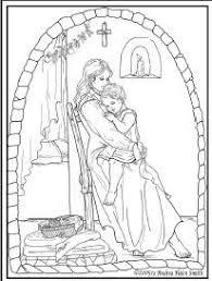free catholic coloring saint dominic guzman patron