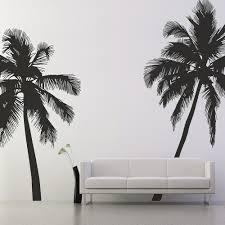 wall sticker in palm tree design cuckooland palm tree wall sticker decor art sihouette jpg