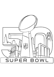 nfl team coloring pages super bowl 2016 with trophy coloring page sports football nfl