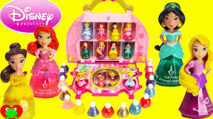 Little Girls Vanity Playset Disney Princess Little Kingdom Cosmetic Castle Vanity Makeup Set