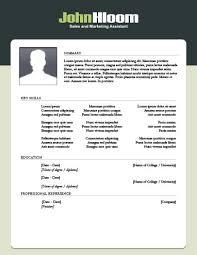 marketing resume template 49 creative resume templates unique non traditional designs