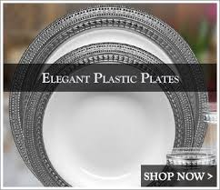 plates for wedding plastic wedding plates looks real posh party supplies