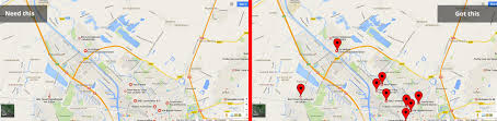 Google Maps Embed Google Maps Places Api Need To Get Same Markers As On Google