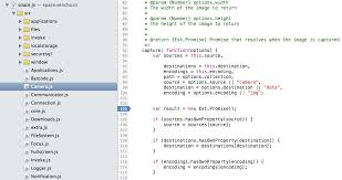 web manager guides application debugging
