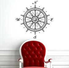 wall decal nautical compass rose wall decor navigate ship ocean wall decal nautical compass rose wall decor navigate ship ocean sea compass wall decal for