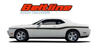 Dodge Challenger 2008 - dodge challenger body stripe vinyl graphic door decal beltline