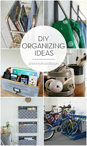 diy organizing ideas jenna burger