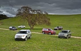 Car Interior Noise Comparison Three Row Crossover Suv Comparison Chevrolet Traverse Vs Dodge