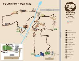 Map Your Run Terrapin Announces My Muddy Valentine Course U2013 Run Oregon