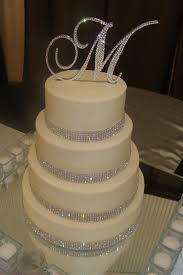 rhinestone number cake toppers simple design bling wedding cake toppers precious topper