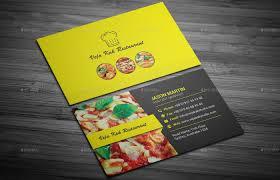 restaurant business card by vejakakstudio graphicriver