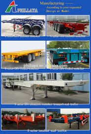 20ft 45ft side loading trailer container lift for truck connection