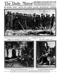 christmas day truce 1914 how the daily mirror u0027s lucky footballs