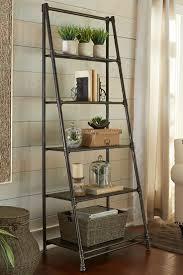 Diy Leaning Ladder Bathroom Shelf by Shelving Stunning Thin Metal Shelf Bathroom Shelves Beautiful