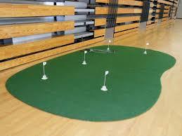 9 u0027 x 15 u0027 5 hole pro backyard or indoor putting green including