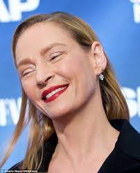 see what you would look like with different color hair what has uma thurman done to her face daily mail online