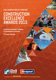 contractor construction awards 2015 new zealand by contrafed