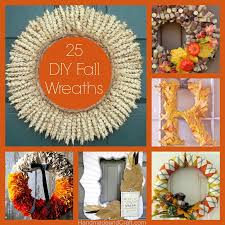 fall wreath ideas 25 fall wreaths diy decor