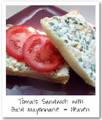ina garten tomato ina garten tomato sandwich with basil mayonnaise on bakespace com