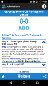 root debug apk adb wireless root or no root 1 0 1 apk android 2 3 2 3 2