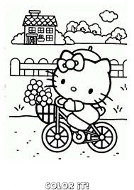 kitty coloring pages coloring sheets printable download