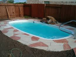 Backyard Pool Sizes by Oval Pool Sizes U2014 Home Landscapings Oval Swimming Pools Deck