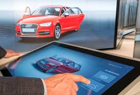 audi digital showroom audi city digital experience opens in berlin retail innovation