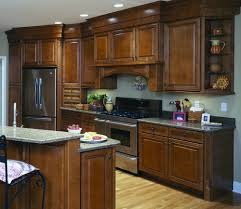 residential and commercial kitchen and bath cabinets open door