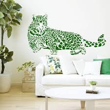 online get cheap stickers mural leopard aliexpress com alibaba