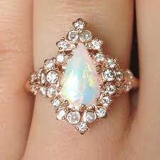 Opal Wedding Rings by 286 Best Opal Rings Images On Pinterest Opal Rings Opals And