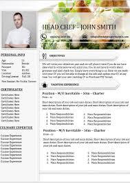 Sample Of Chef Resume Chef Cv Portfolio Menu Plan Sample Need Help Vanya