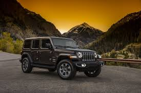 2018 jeep wrangler unlimited to start at 30 445 equipment list