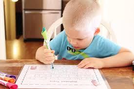 diy laminated preschool worksheets the happy flammily