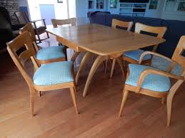 dining table refinish heywood wakefield furniture refinished