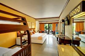 Family Room Bali Garden Beach Resort A Hotel Accommodation In Kuta - Hotels with family rooms