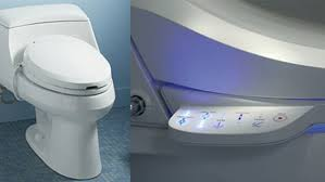 Kohler Lighted Toilet Seat Kohler C3 Series Toilet Seats Offer Hands Free Washing