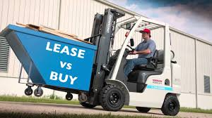 forklift lease vs buy guide