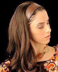 headband wigs 20 3 4 headband fall european human hairpiece by georgie wigs